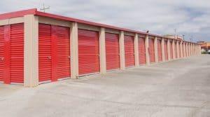 Drive-up storage in Vallejo