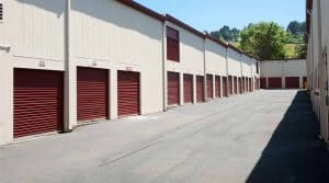 Drive-up storage units for rent in San Pablo, CA