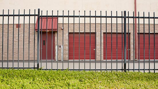 Pittsburg storage facility security fence