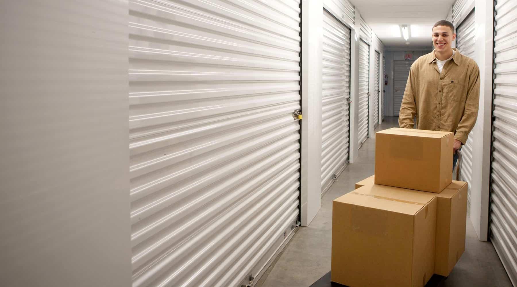 Frederick storage customer
