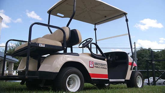 Frederick golf cart