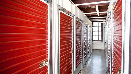 Indoor storage units for rent in San Francisco