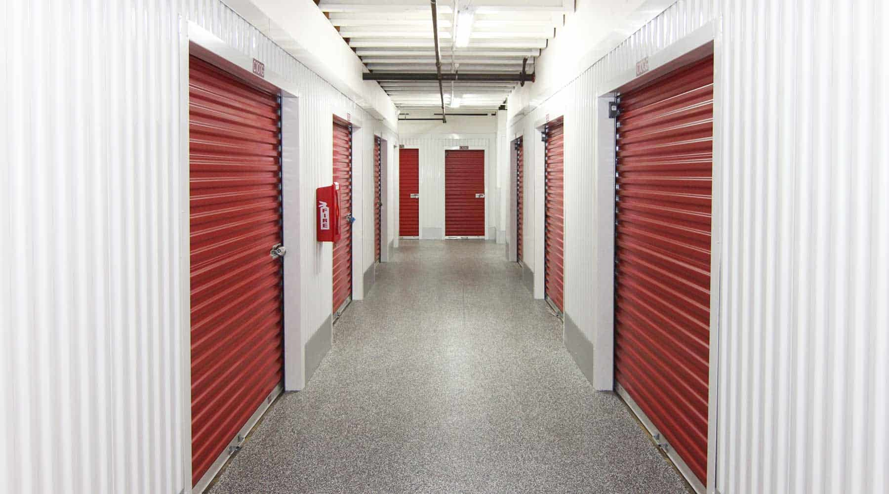 Walnut Creek indoor storage units