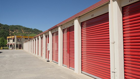 Martinez drive-up storage
