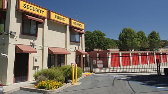 Martinez secure storage facility