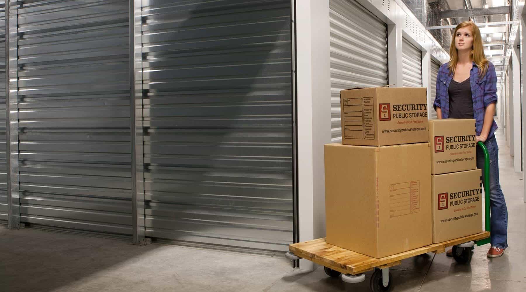 Napa indoor storage