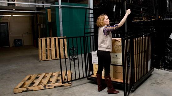 Napa wine storage