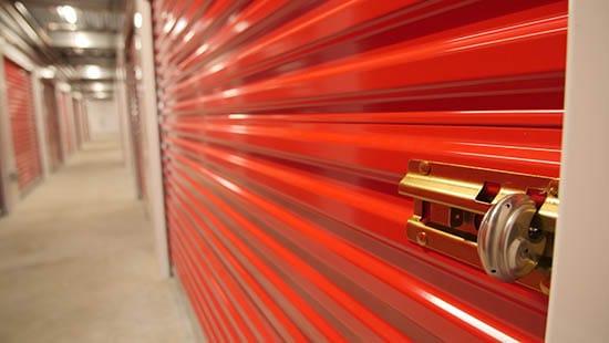 Portland self storage unit with disc lock