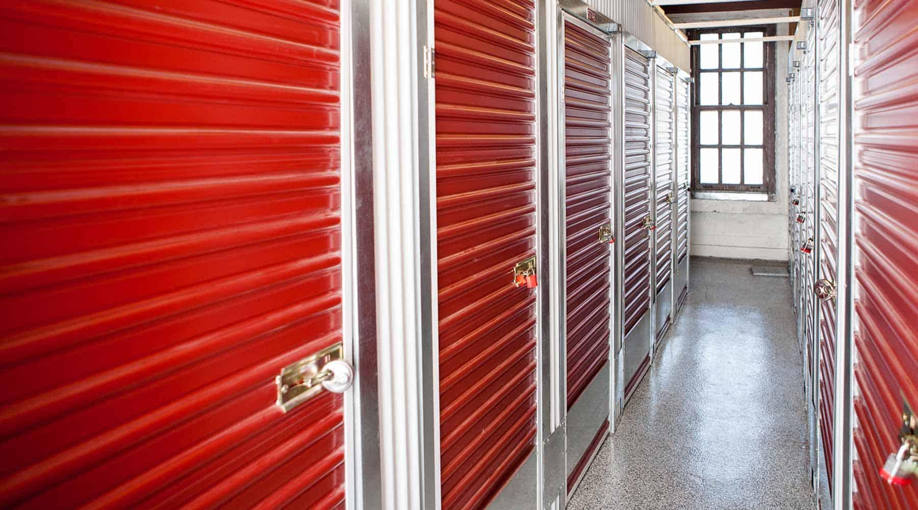 San Francisco indoor storage units