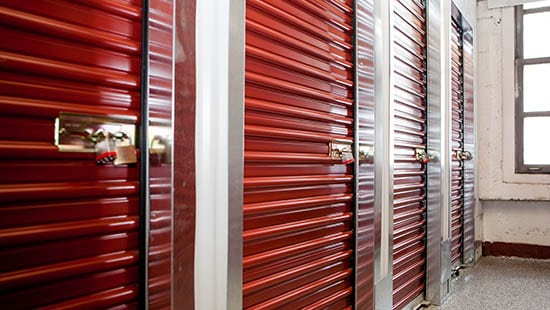 San Francisco storage units with locks