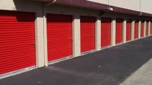 Walnut Creek drive-up storage units