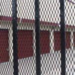 Security fence at Walnut Creek self storage facility