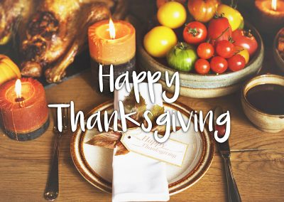 Happy Thanksgiving From All of Us at SPS!