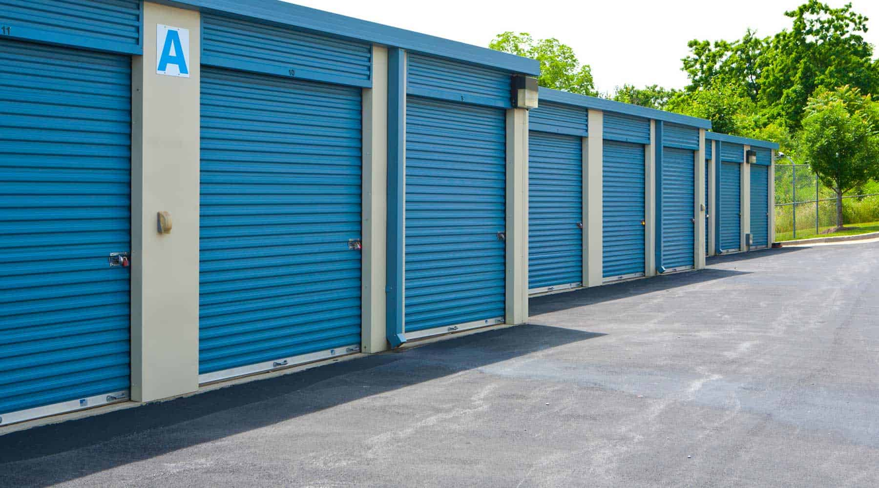 Frederick drive-up storage units