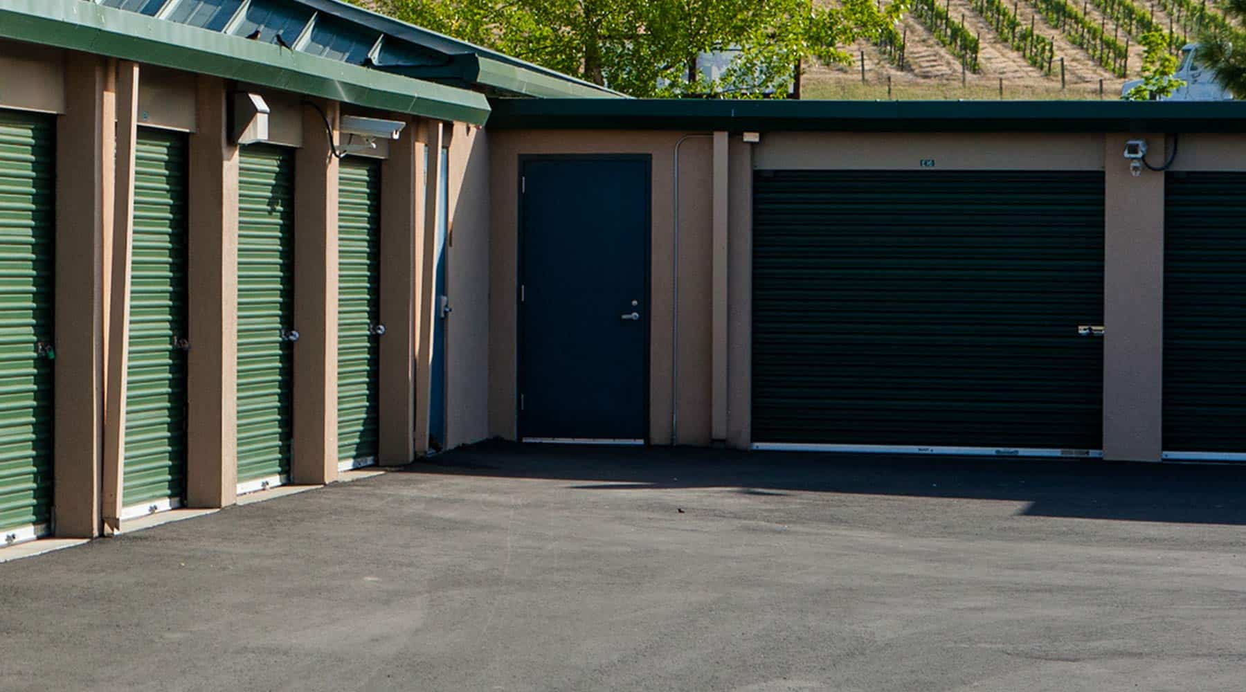 Napa drive-up storage