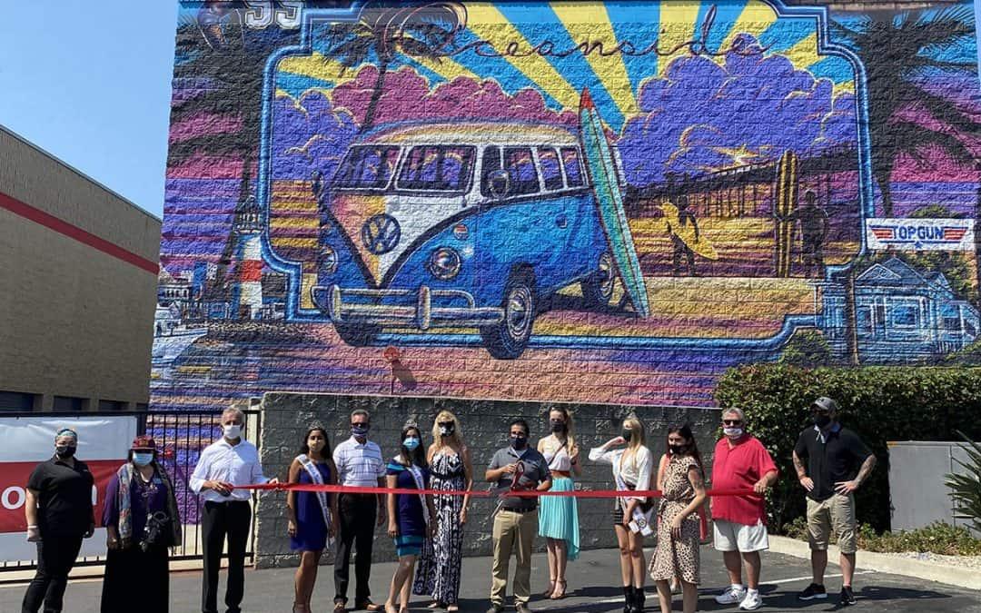 SPS Debuts New Mural Celebrating the Oceanside Community