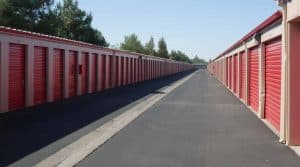 Sacramento Drive-up Storage units
