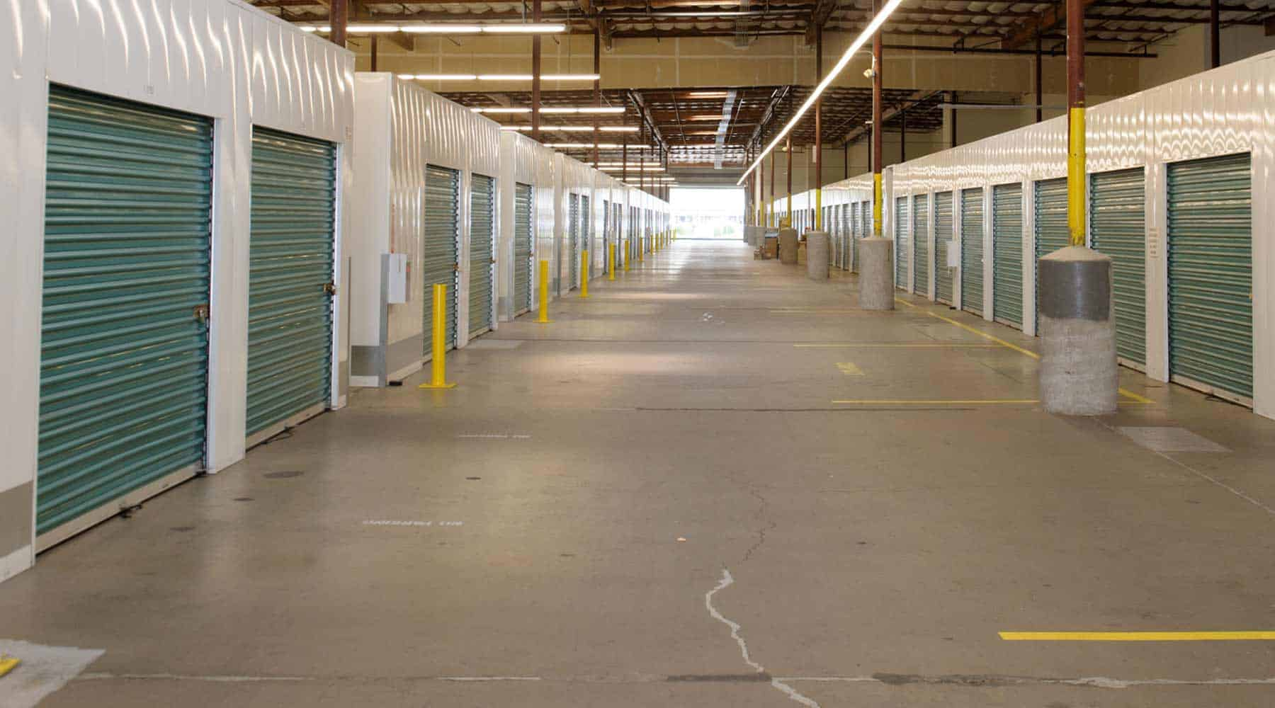 Sacramento drive-up indoor storage